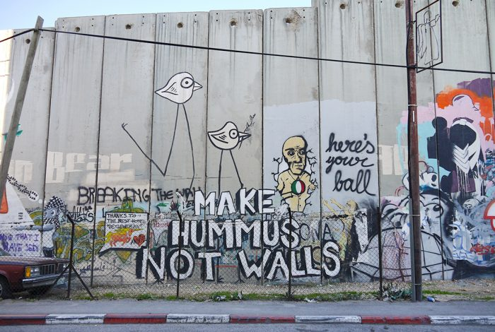 Make Hummus Not Walls, Bethlehem, Palestine