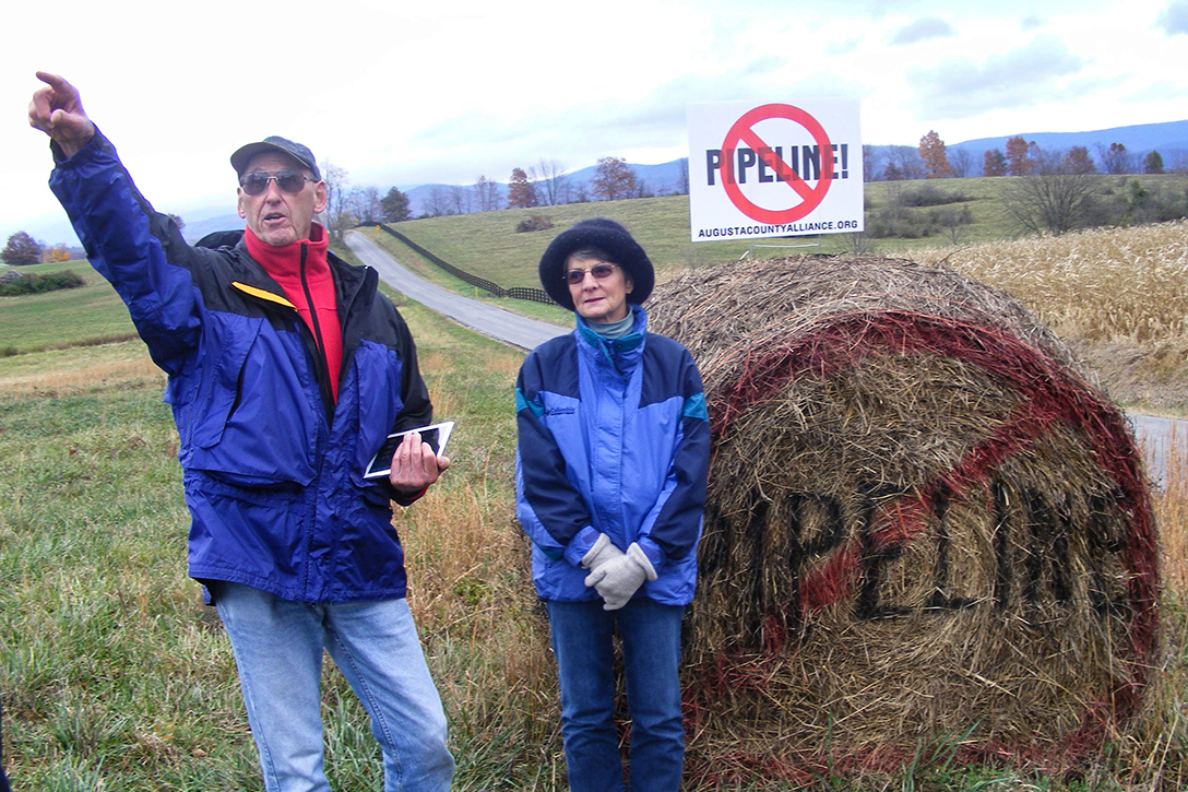 Protest, Atlantic Coast Pipeline