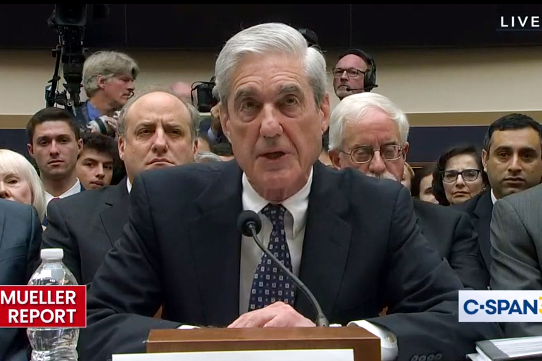 Robert Mueller, testimony