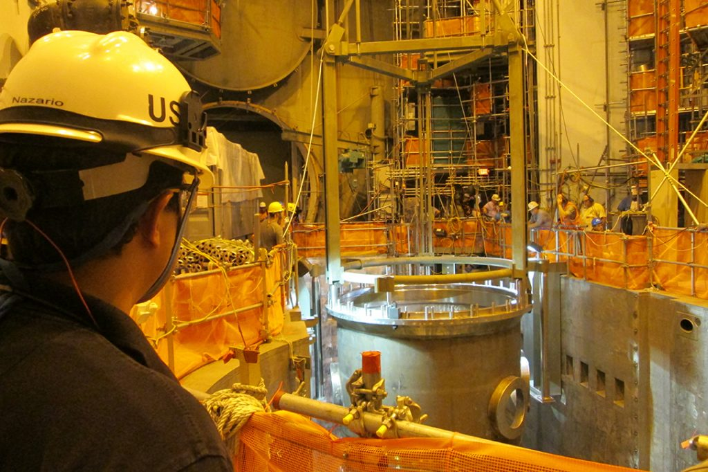 Watts Bar Nuclear Power Plant inspector