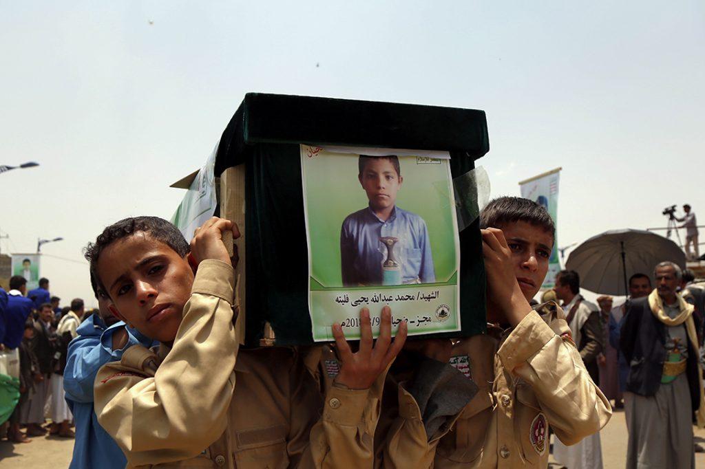 Yemen, war victims