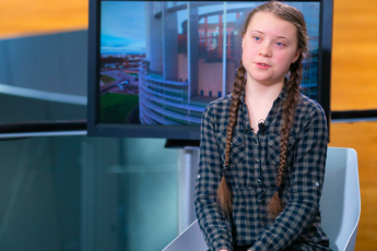 Greta Thunberg, German eco-activist