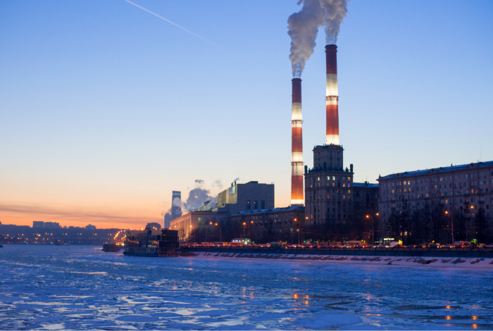 Climate change, fossil fuel power plants