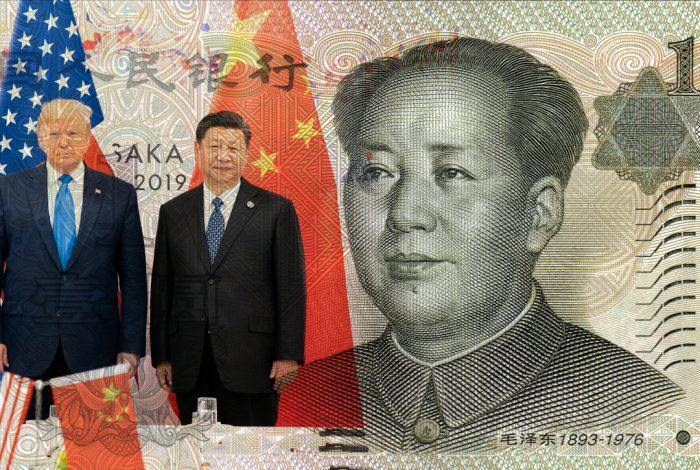Donald Trump, Xi Jinping, yuan