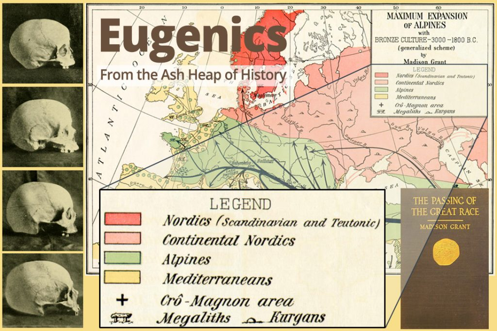 eugenics, Passing of the Great Race, skulls