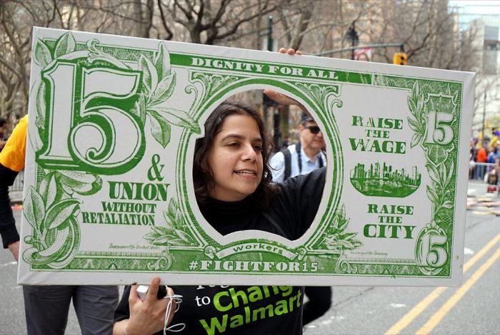 15 dollar, $15, minimum wage