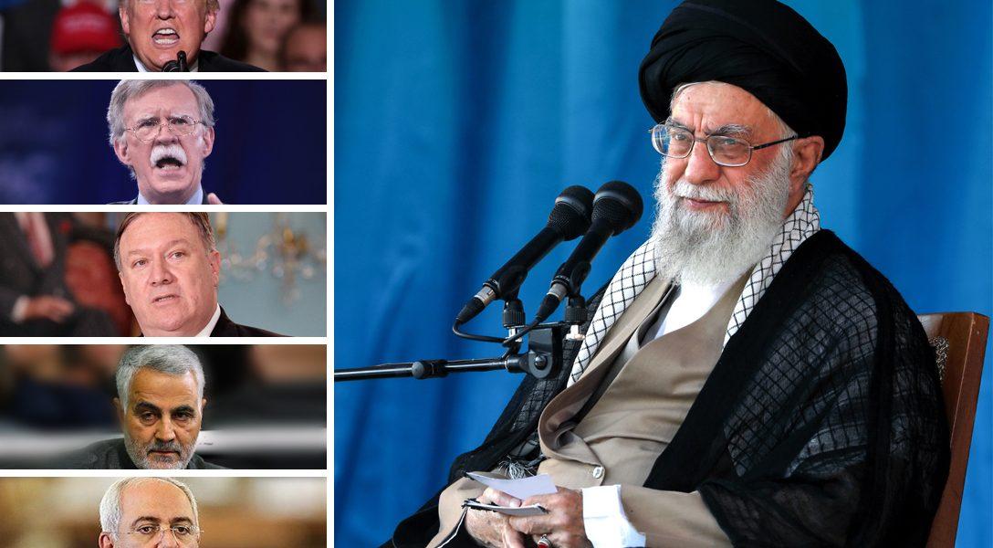 Ayatollah Ali Khamenei, Donald Trump,