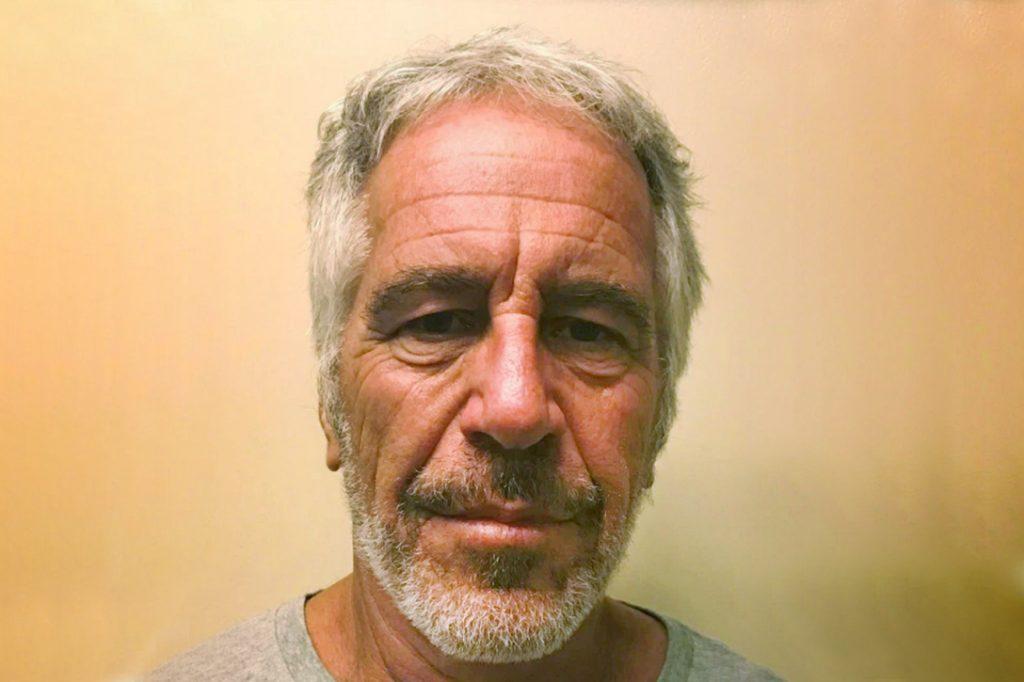 Jeffrey Epstein, mugshot