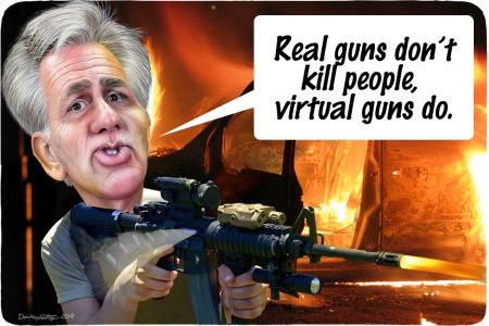Kevin McCarthy, assault weapon,