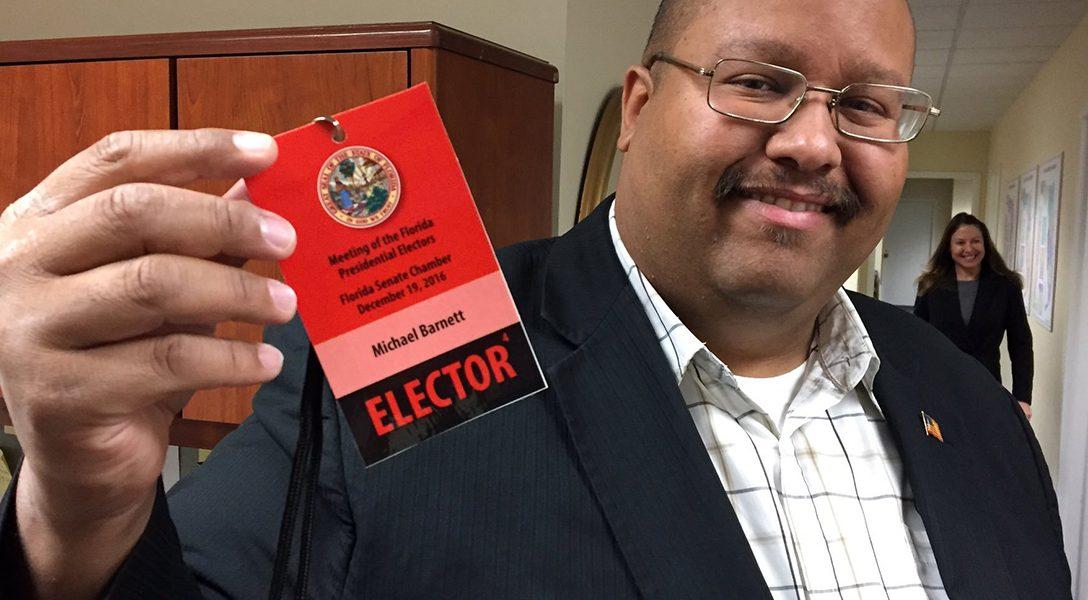 Michael Barnett, electoral college, elector