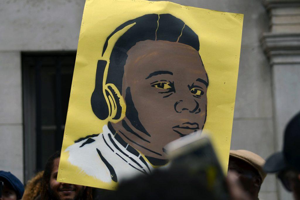 Michael Brown poster