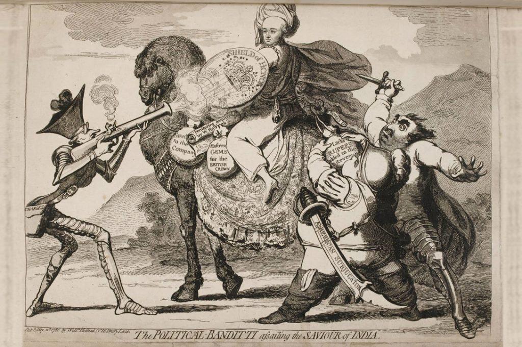 The Impeachment, 1786, Edmumd Burke, Wa Hastings, Charles James Fox