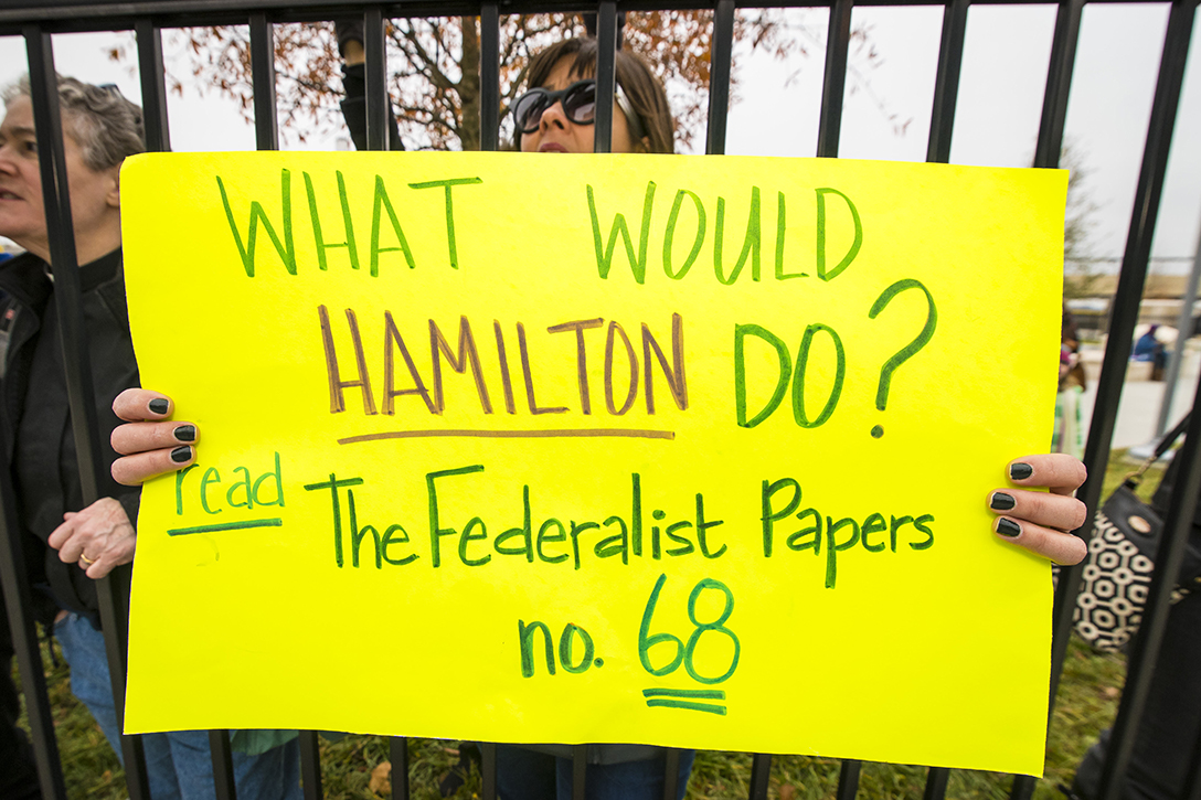 electoral college, protest