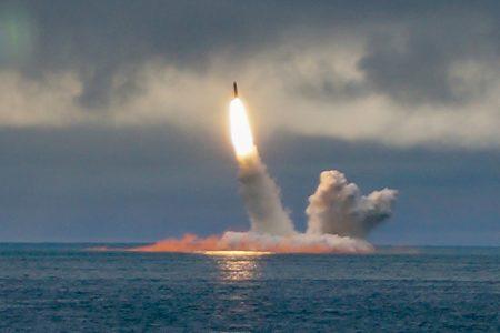 Borei-class nuclear-powered submarine K-535