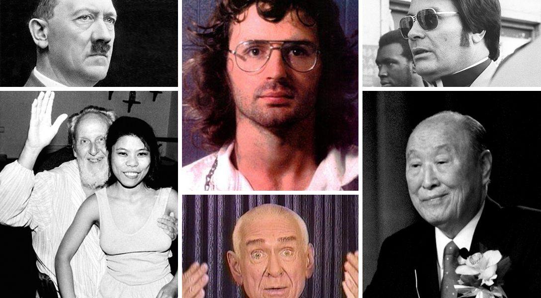 cult leaders, Adolf Hitler, David Koresh, Jim Jones, David Berg, Marshall Applewhite, Rev. Sun Myung Moon