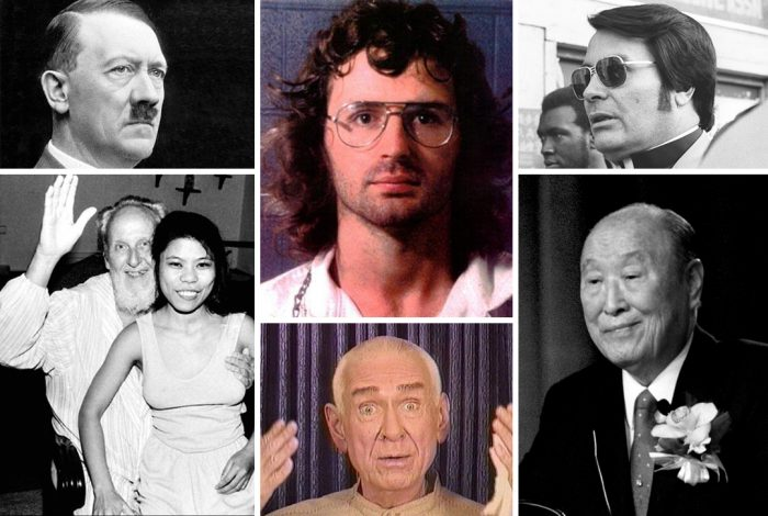 cult leaders, Adolf Hitler, David Koresh, Jim Jones, David Berg, Marshall Applewhite, Rev. Sun Myung Moon