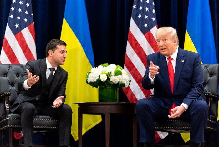 Donald Trump, Volodymyr Zalensky