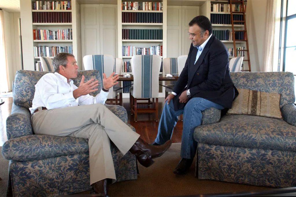 George W. Bush, Bandar bin Sultan al Saud