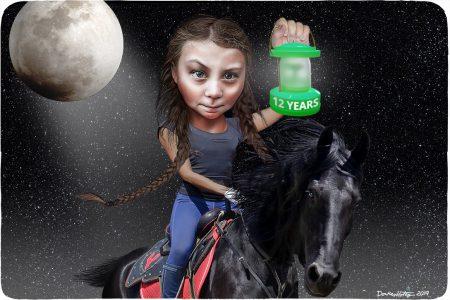 Climate Change, Greta Thunberg. Paul Revere