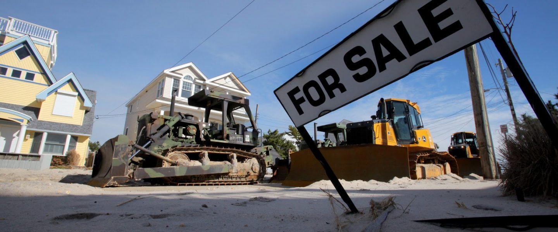 Hurricane Sandy, Long Beach Island