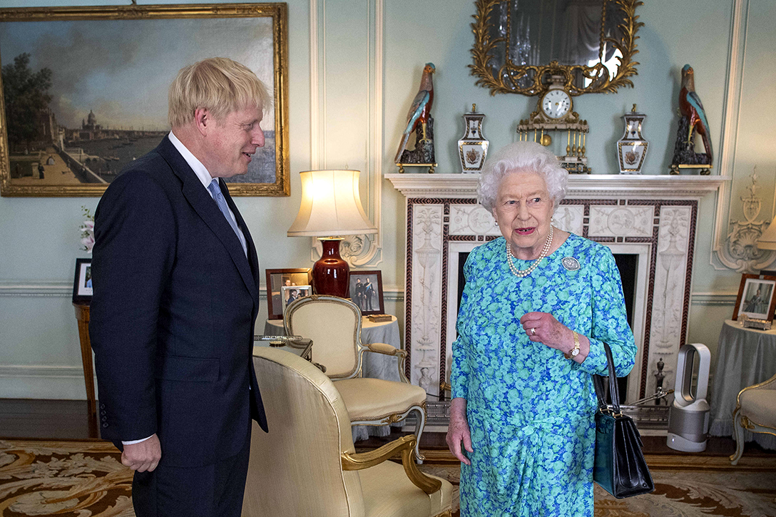 Queen Elizabeth II, Boris Johnson