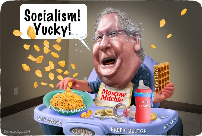 Mitch McConnell, socialism