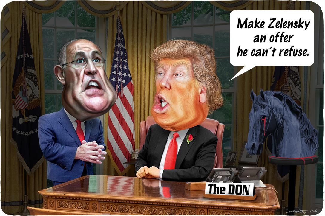 Donald Trump, Rudy Giuliani, Godfather