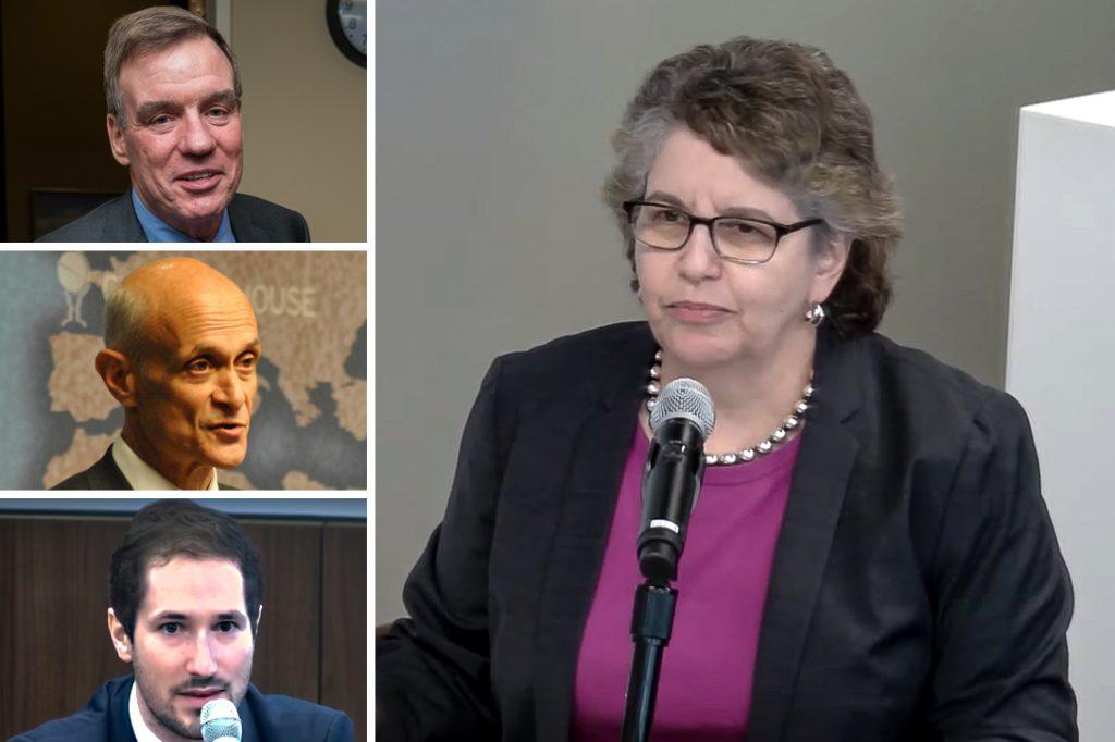 Mark Warner, Michael Chertoff, Clement Wolf, Ellen Weintraub