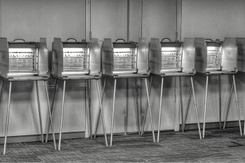 US election security, voting machines