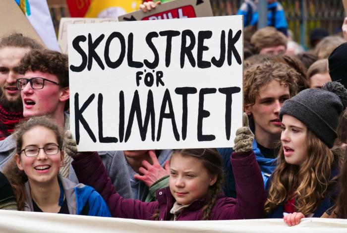 Greta Thunberg, climate change, US Capitol