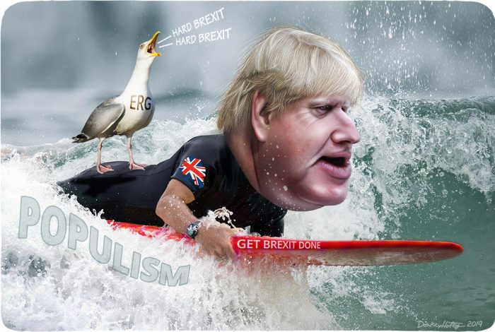 Boris Johnson, populism