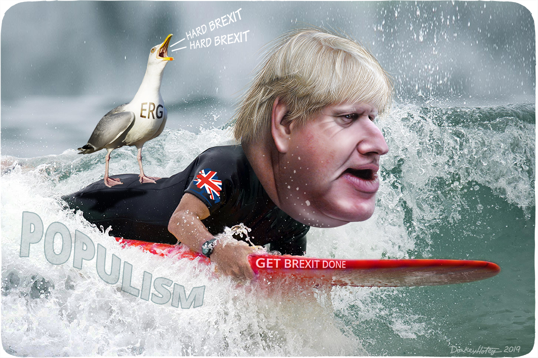 Boris Johnson, populism