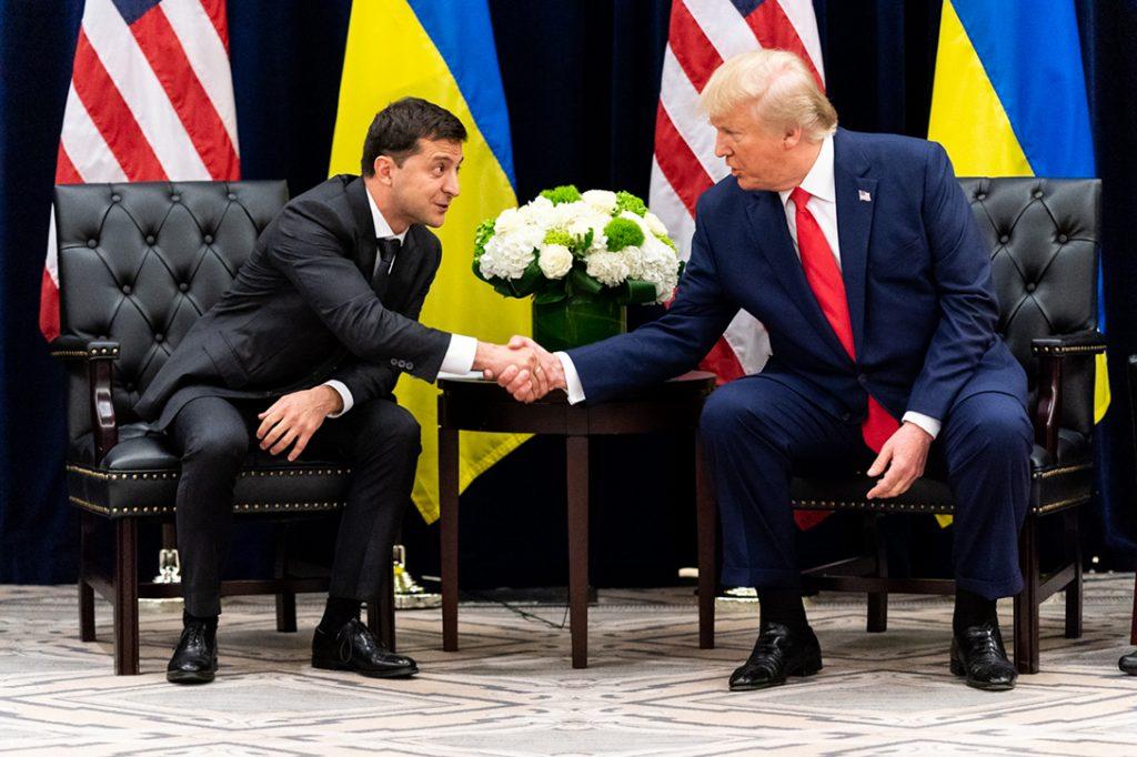 Donald Trump, Volodymyr Zelensky