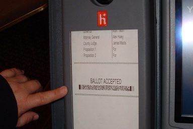 Barcode Ballot, Ballot, Voting, Voting system, North Carolina, Elections