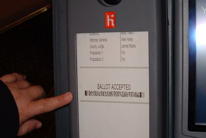 Barcode Ballot, Ballot, Voting, Voting system, North Carolina, Elections