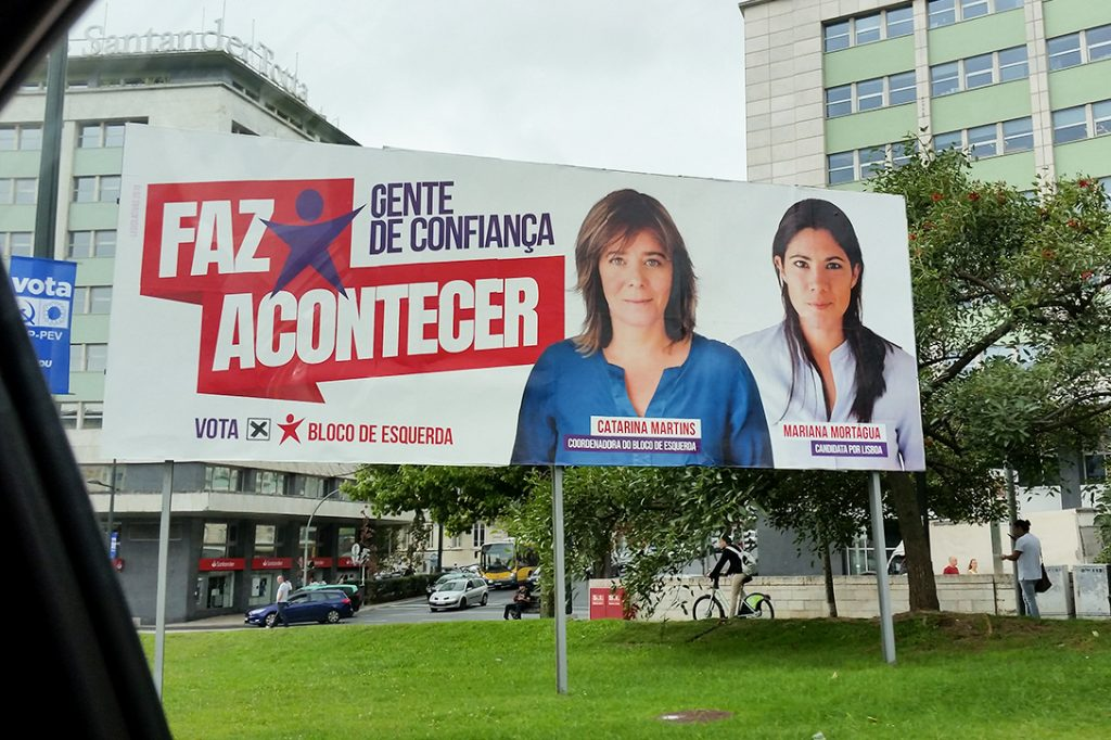 Portugal, election, billboard