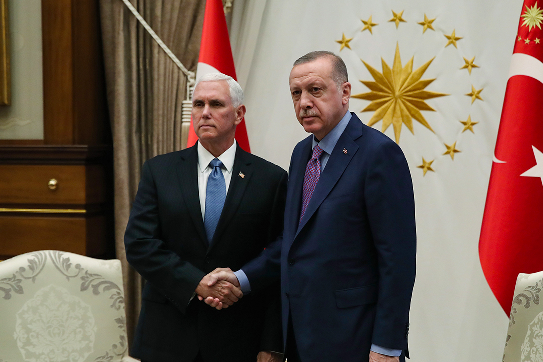 Recep Tayyip Erdogan, Mike Pence