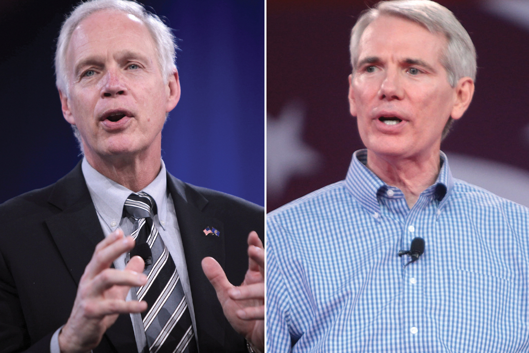 Ron Johnson, Rob Portman