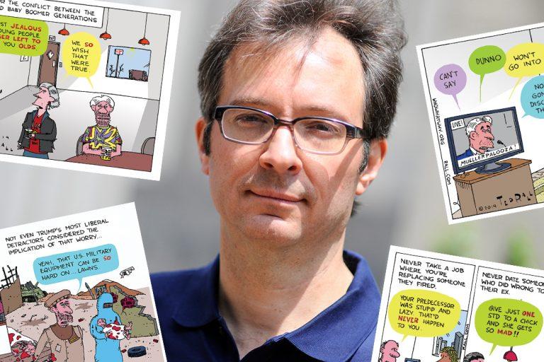 Ted Rall, cartoonist