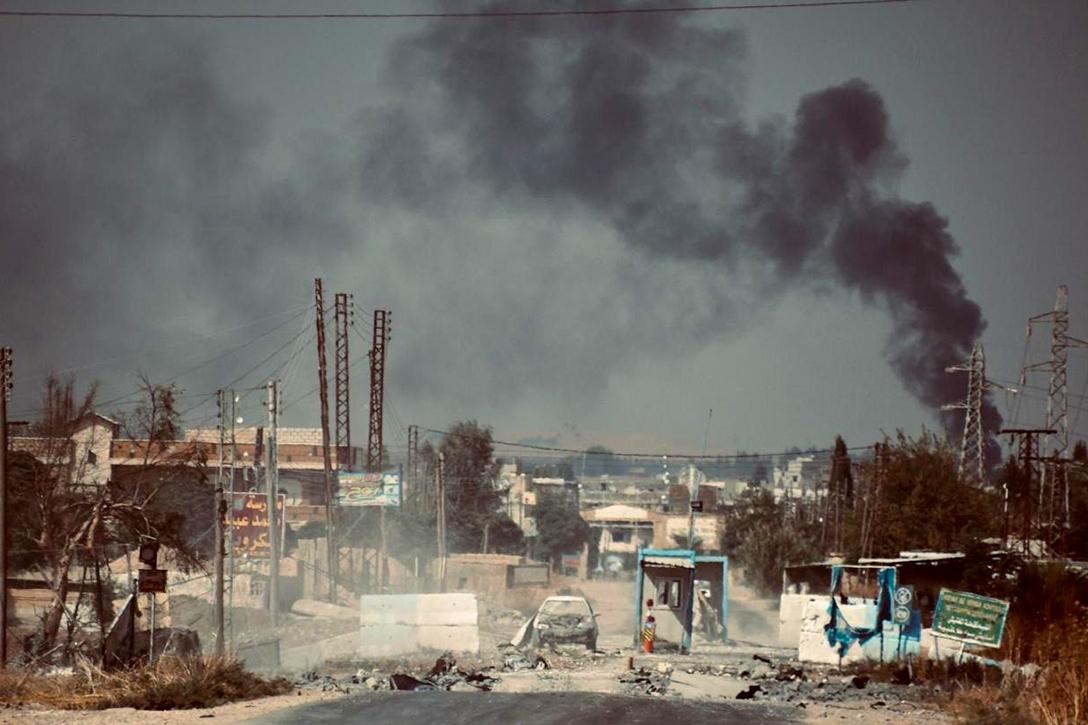 Turkish, attack, Ras al-Ayn