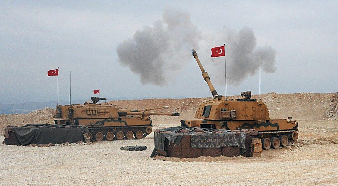 Turkish army, Kurds, Syria