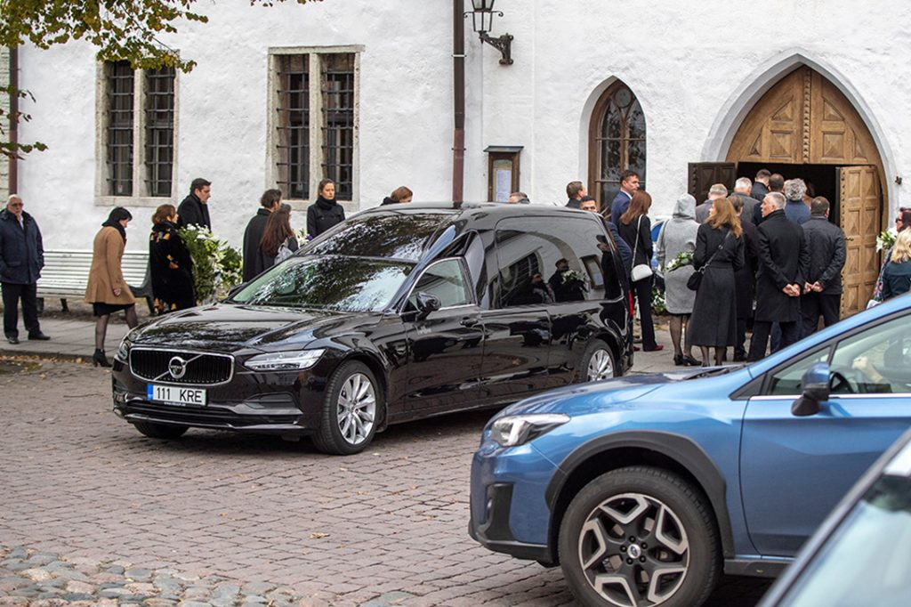 Aivar Rehe funeral service