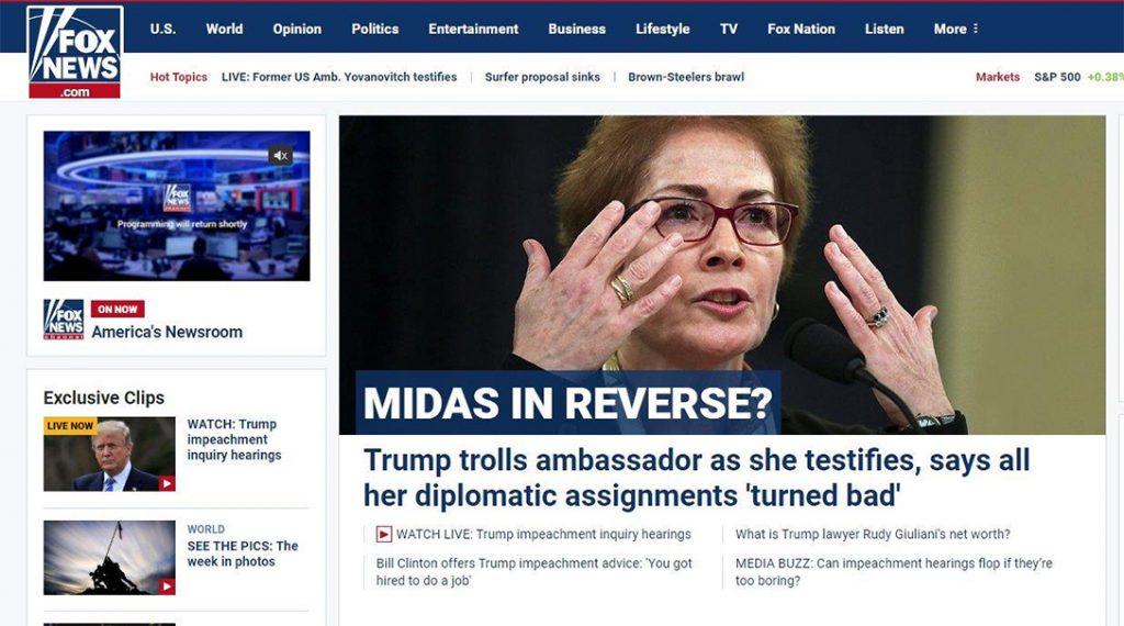 Fox New, website
