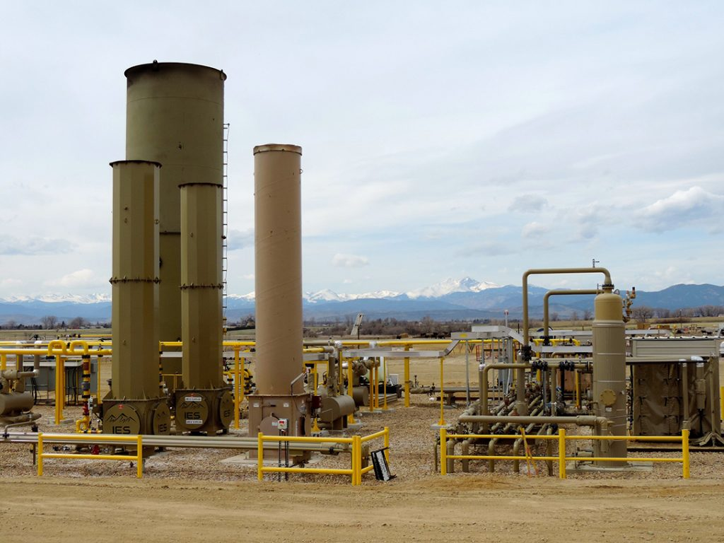 fracking, oil and gas extraction facility