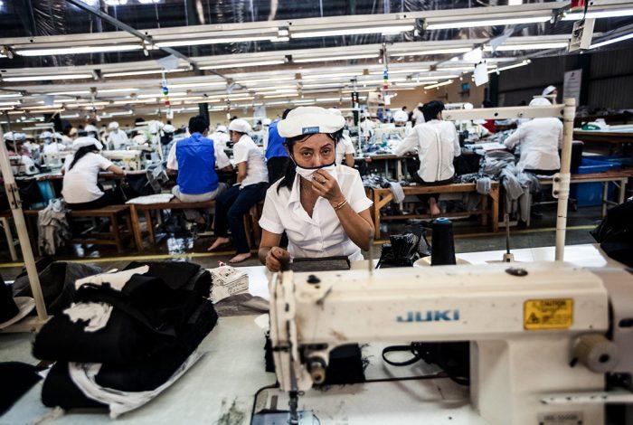 garment factory, HCM City, Viet Nam