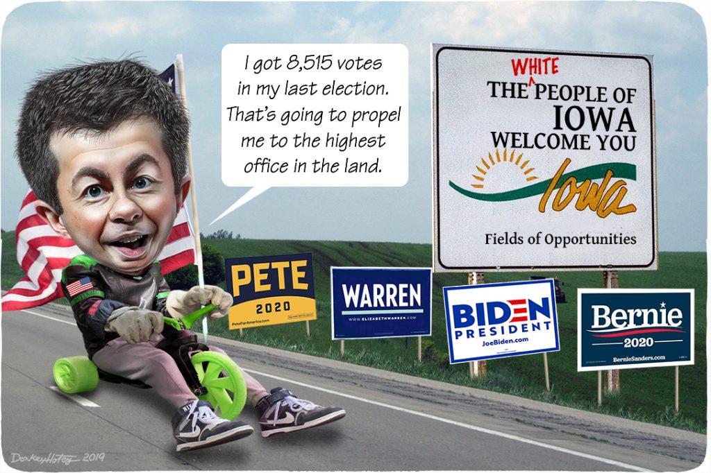 Pete Buttigieg, Iowa, caucus