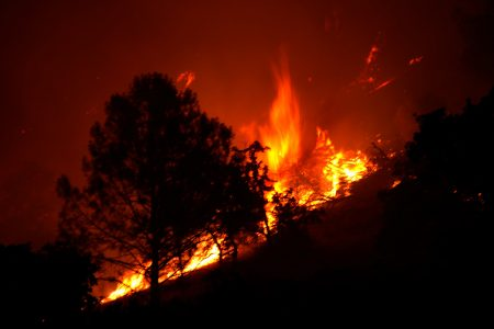 Northern California, wildfire
