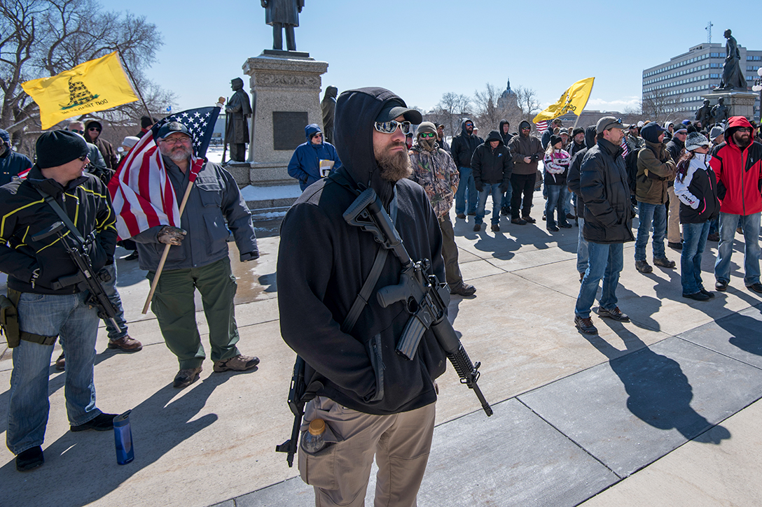 Second Amendment Rally, open carry