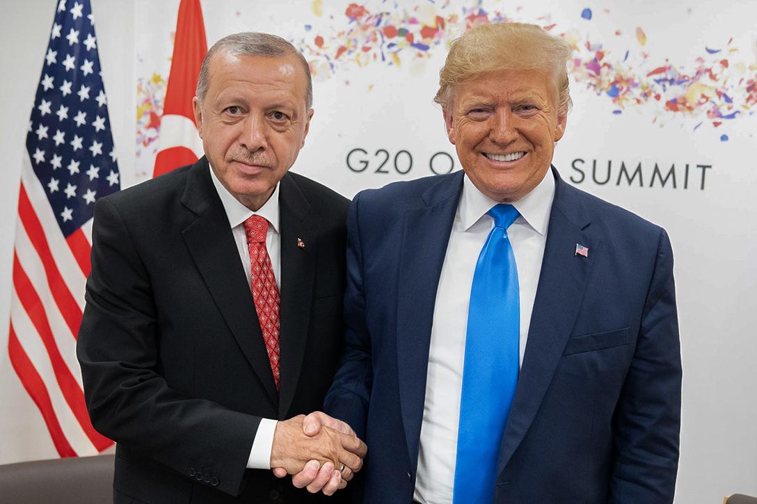 Recep Tayyip Erdogan, Donald J. Trump