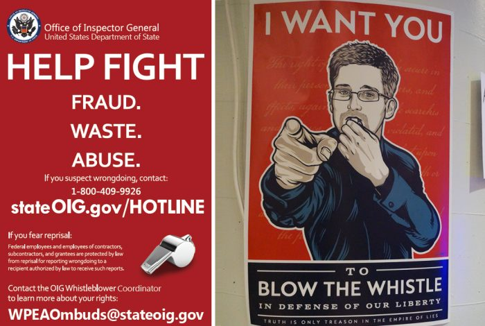 Whistleblower, posters